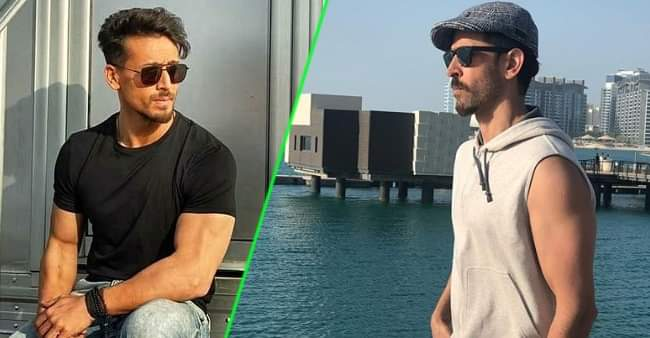"Tiger Shroff's comment on Hrithik Roshan's ""Looking for the storm"" picture is winning hearts"