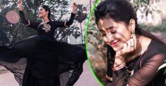 YRKKH fame Shivangi Joshi looks ravishing in her latest Instagram pictures