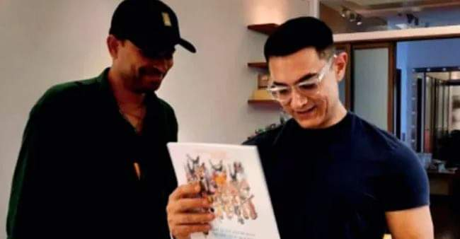 Famous cartoonist Manoj Sinha creates a special calendar featuring Aamir Khan's memorable characters
