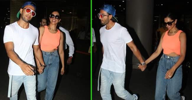 Deepveer are back from their beach Vacay, and shares gorgeous pictures