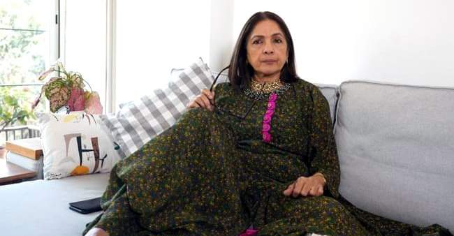 """He held me tight"": Neena Gupta gets emotional as she remembers her beloved father"