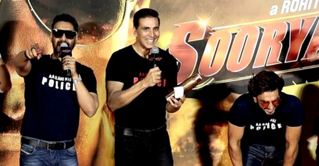I was doing Phool Aur Kaante but Ajay 'pushed me out', says Akshay at Sooryavanshi trailer launch