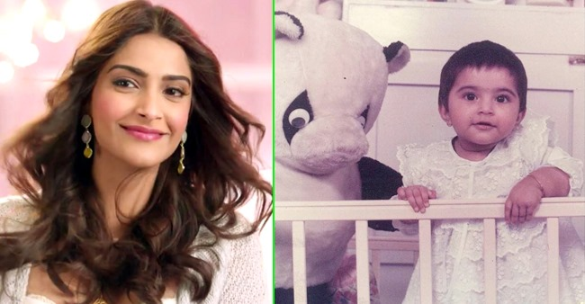 Sonam Kapoor looks cuteness overloaded in her white frock throwback photo