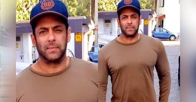 Pic: Salman's latest look is all about casuals with a denim cap and its appealing