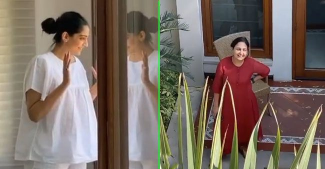 Video: Sonam Kapoor spends quarantine time with her mother-in-law in an innovative way