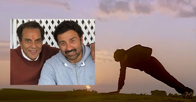 Movie producers once used Sunny Deol as 'Dharmendra's double', see throwback post