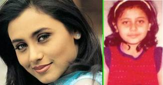 Pics of Rani Mukherjee that prove she was 'Mardaani' even in her childhood