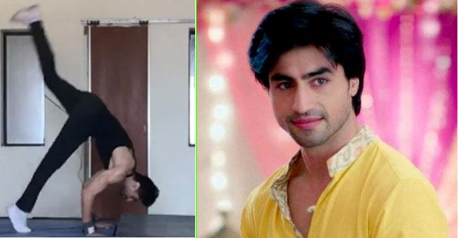 'Bepannah' fame Harshad Chopda lifts the fitness game as he shares his home workout video
