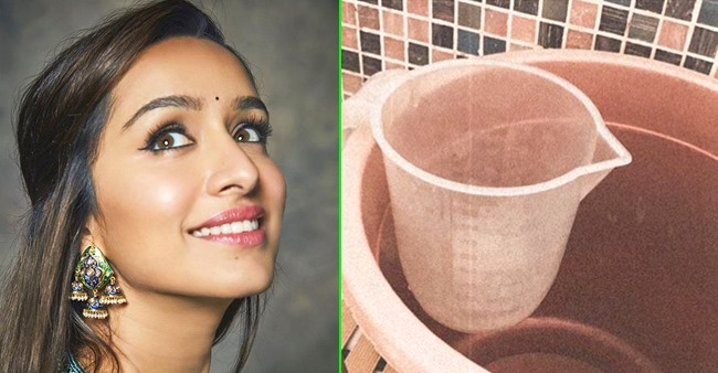 Shraddha Kapoor gives an important eco-friendly message, urges fans to save water