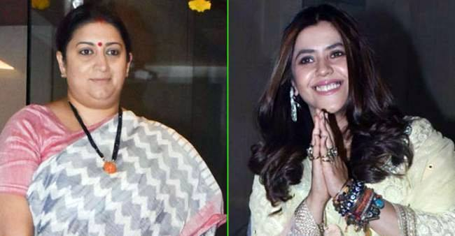 'Happy B'Day Maasi No. 1': Ekta Kapoor wishes Smriti Irani with an adorable video