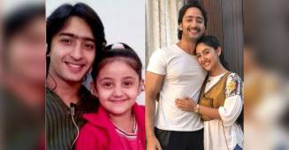 Ashnoor Kaur wishes B-Day to co-star Shaheer with an adorable 'then vs now' pic; Check out