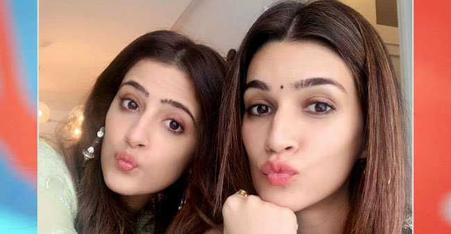 I am very protective about her, says Kriti Sanon on bond with sister Nupur