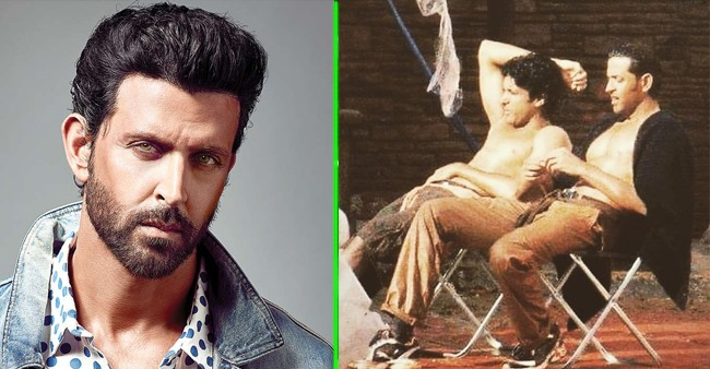 Farhan and Hrithik lift the temperature in this ZNMD behind the scene pic; Check out