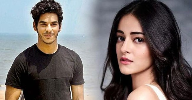 After breaking up with Janhvi Kapoor, Ishaan Khatter may be dating co-star Ananya Panday; Check out