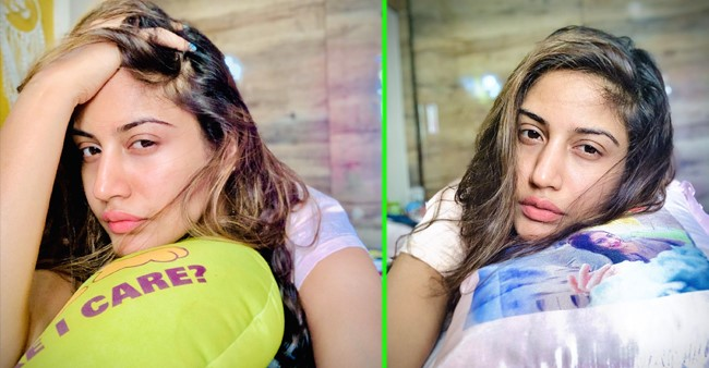 Surbhi Chandna gives a selfie treat to her fans, asks them to wake her after lockdown ends
