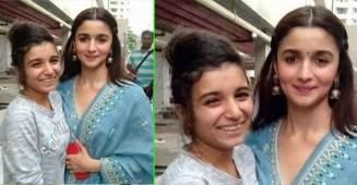 Alia Bhatt looks flawless in this throwback pic as she poses with a fan during promotion work