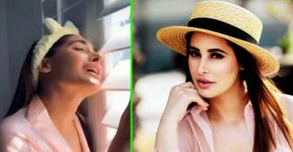 Nargis Fakhri shares a funny lockdown video, asks fans if they are feeling the same