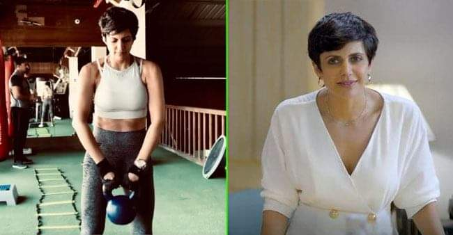 Mandira Bedi shares new workout video on Instagram, netizens are impressed