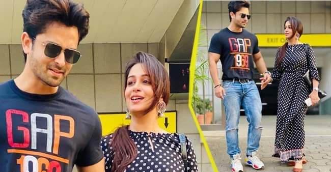 Dipika Kakar and Shoaib Ibrahim look adorable together in Sunday outing pictures
