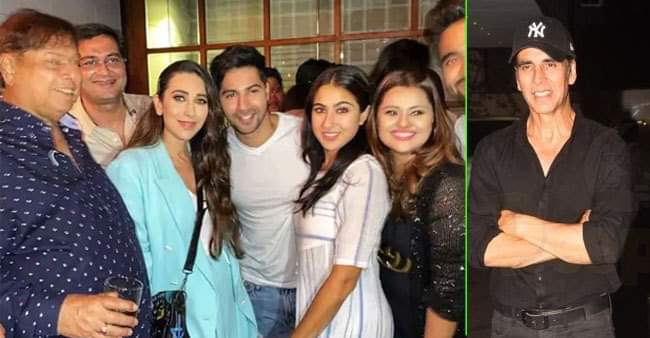 Coolie No.1 wrap-up party: Akshay Kumar, Riteish-Genelia, Karisma Kapoor graced the party