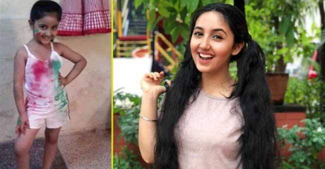 Patiala Babe fame Ashnoor Kaur posted adorable childhood holi celebration picture with friend Reem Shaikh