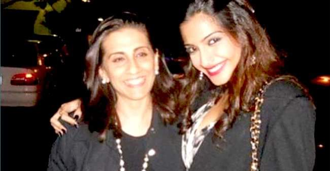 Sonam Kapoor Ahuja penned down a beautiful note on her mother's birthday
