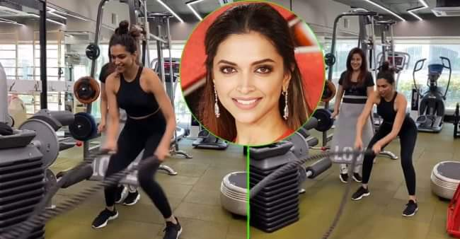 Deepika Padukone's 'lungi dance' workout video is winning hearts on the internet