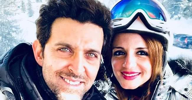 "Hrithik Roshan posts ""Stay Real"" post on Instagram, ex-wife Sussanne replies with hearts"