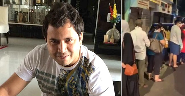 Abhinav Kohli Shares Video Of Long Queue Outside Shops Even After Lockdown Announcement