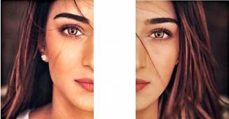Pics: Erica Fernandes sprinkles magic with her beautiful eyes, captions 'the art of eye contact'
