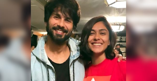 Jersey actor Mrunal Thakur praises co-star Shahid, says he is a sweetheart and always supportive