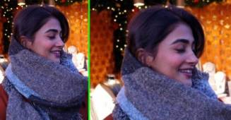 Pooja Hegde blooms like a red rose as she enjoys Christmas in her throwback pic from Vienna