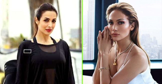 Malaika Arora And Jennifer Lopez give us major home workout goals as they join online yoga classes