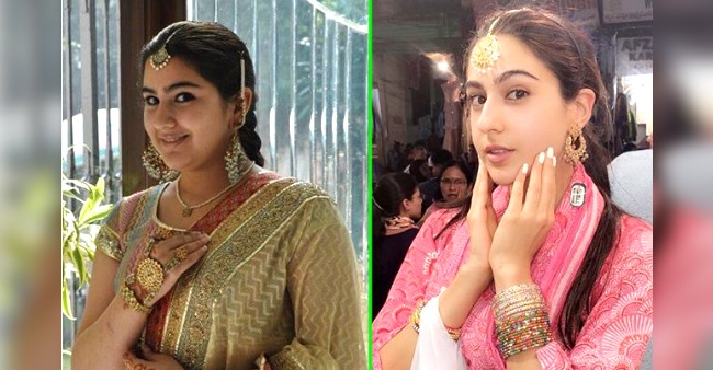 Sara Ali Khan shares her beautiful transformation pic, writes 'some things never change'