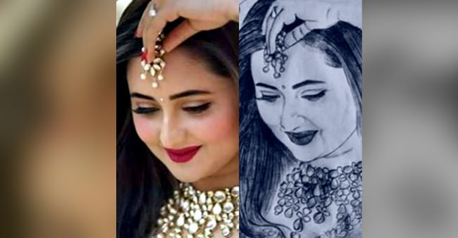 Rashami Desai blooms like a flower in beautiful sketches made by her fans; See pics