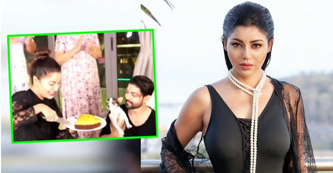 Debina Bonnerjee celebrates her B'Day with friends on a video call, hubby Gurmeet shares video