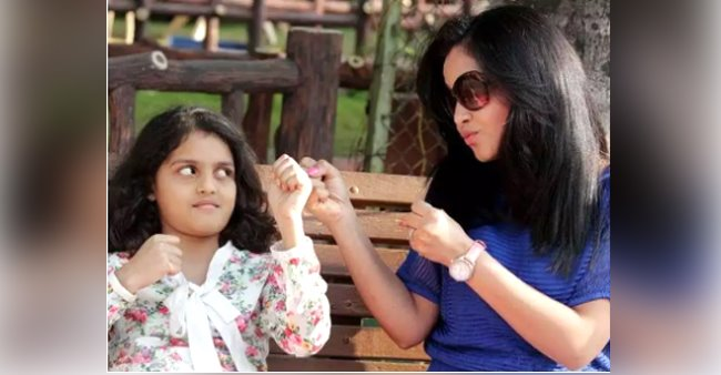 My daughter loves to watch me on TV, says actress Shubhangi Atre; calls her a 'critic'