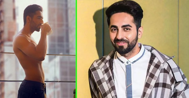 Ayushmann Khurrana flaunts his toned body amid lockdown, fans praise and comment 'ek number'