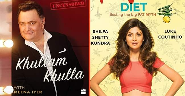 Twinkle Khanna, Rishi Kapoor and more B-town personalities are actors-turned-authors of interesting books