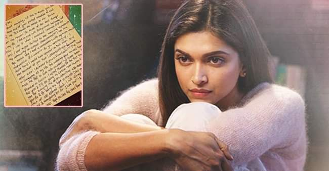 Deepika Padukone shared cards, letters and notes on Instagram, reminiscing the fans love