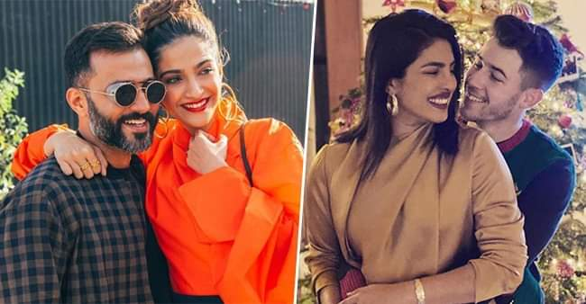 Celebrity couples like Priyanka-Nick, Sonam-Anand setting an example of successful long distance marriages