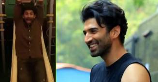 Aditya Roy Kapur enjoys on the slide like a kid and his throwback video reminds us of the good old days