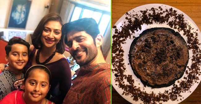 Gauri Pradhan feels proud as kids bake an oreo cake for all, shares a delicious picture