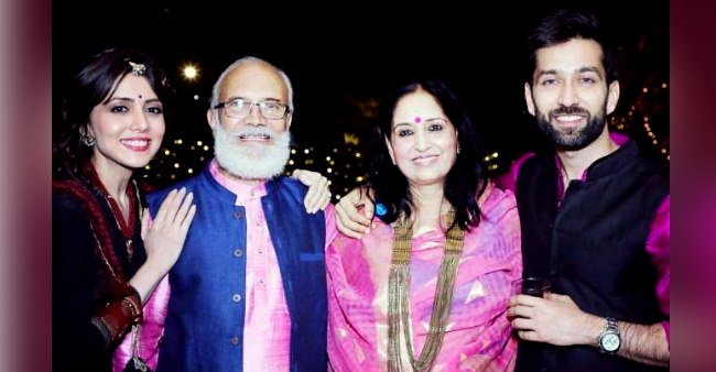 Nakuul Mehta's wife, Jankee wishes B'Day to father-in-law with a sweet picture; Check out