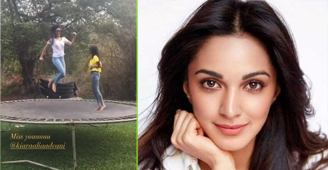 Kiara Advani misses sister Ishita amid the lockdown, shares a throwback photo to refresh memories