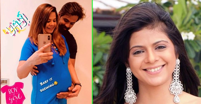 Kkusum fame Rucha Gujarathi looks adorable as she flaunts her baby bump with a 'love' pic