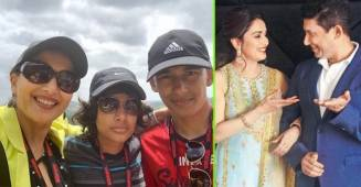 Madhuri Dixit talks about kids Ryan, Arin and their 'reactions' on her movies and dance songs