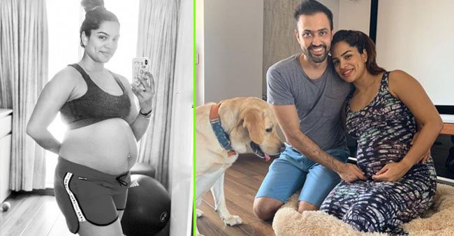 Kumkum Bhagya fame Shikha Singh looks adorable as she flaunts her baby bump in a monochrome pic