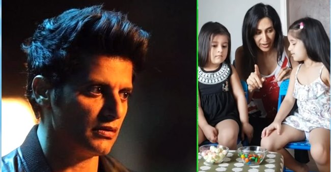 Karanvir Bohra's twin daughters Bella and Vienna look adorable as they take 'candy challenge'