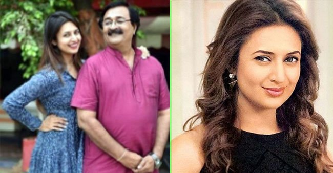 Divyanka Tripathi wishes B'Day to her father amid lockdown with a special throwback picture